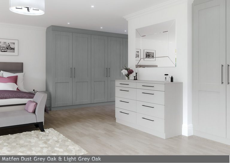 Matfen Dust Grey Oak & Light Grey Oak