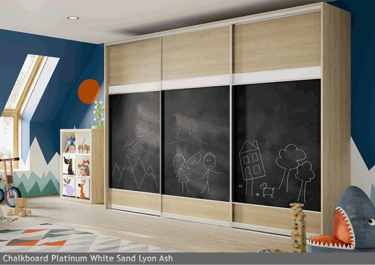 Chalkboard Platinum White Sand Lyon Ash